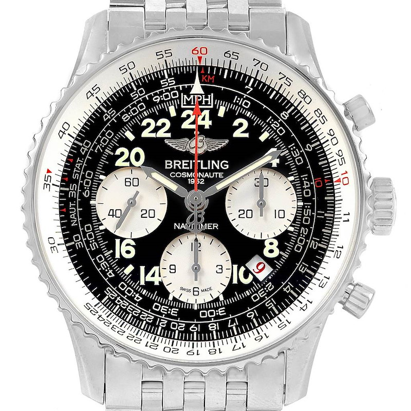 Breitling Navitimer Cosmonaute 02 Limited Edition Mens Watch AB0210 SwissWatchExpo