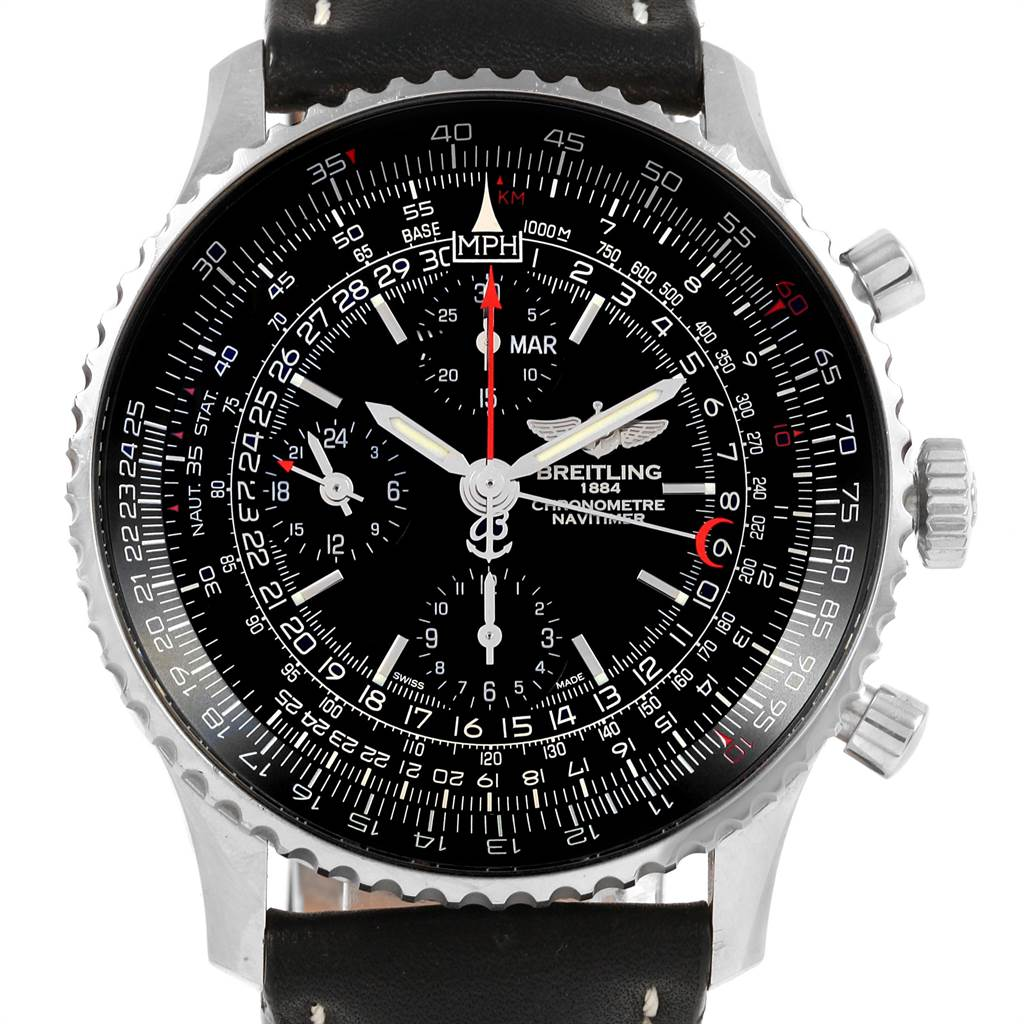 Breitling Navitimer 1884 Limited Edition Mens Watch A21350 Box Papers SwissWatchExpo
