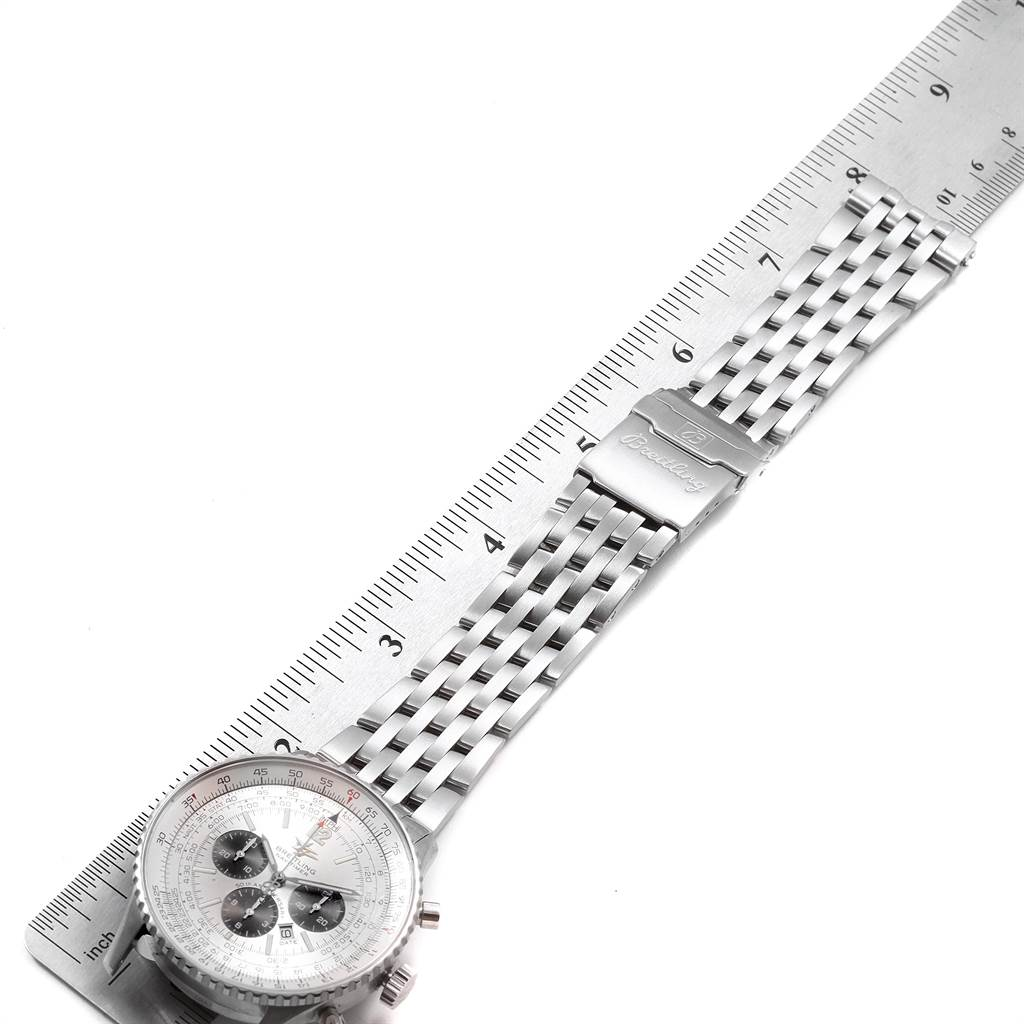 21747 Breitling Navitimer 50th Anniversary Mens Watch A41322 Box Papers SwissWatchExpo