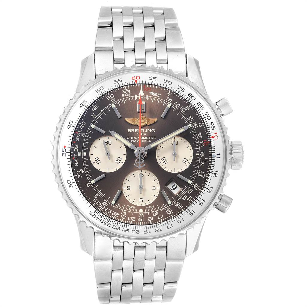 21992 Breitling Navitimer 01 Panamerican Limited Edition Mens Watch AB0121 SwissWatchExpo