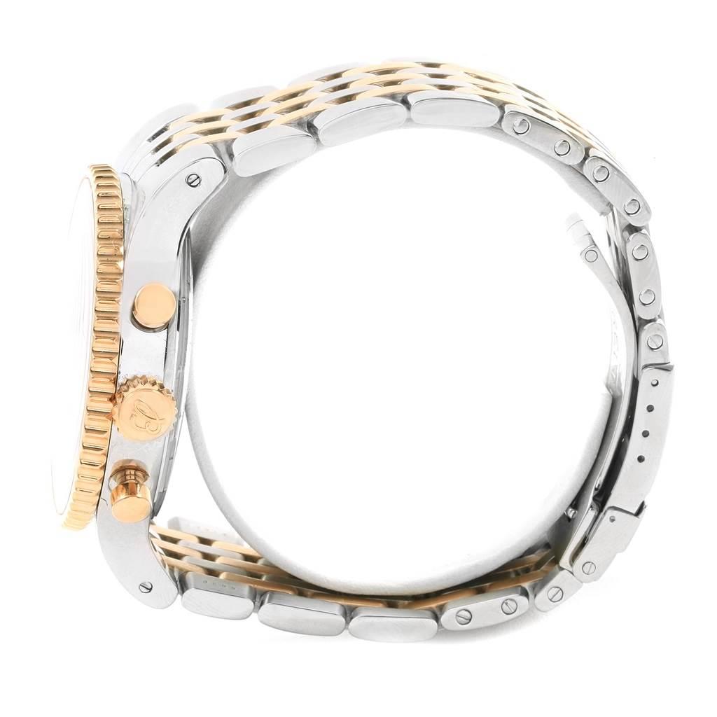 Breitling Montbrillant Legende Steel Rose Gold Mens Watch C23340 SwissWatchExpo