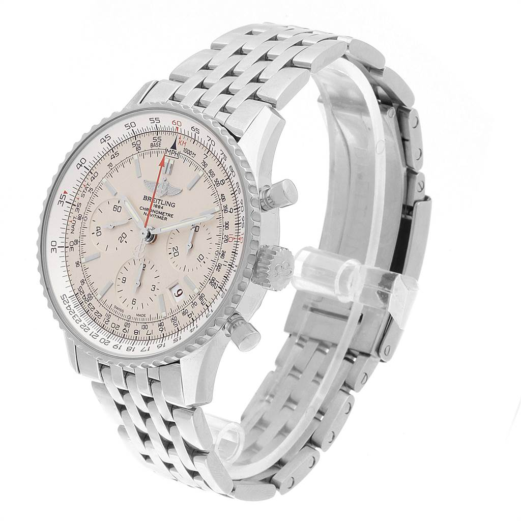 Breitling Navitimer Montbrillant 01 Limited Mens Watch AB0123 Box Papers SwissWatchExpo
