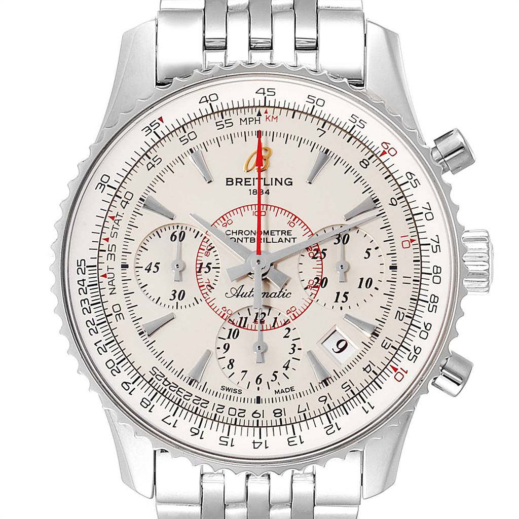 Breitling Navitimer Montbrillant 01 Limited Edition Watch AB0131 Box Papers