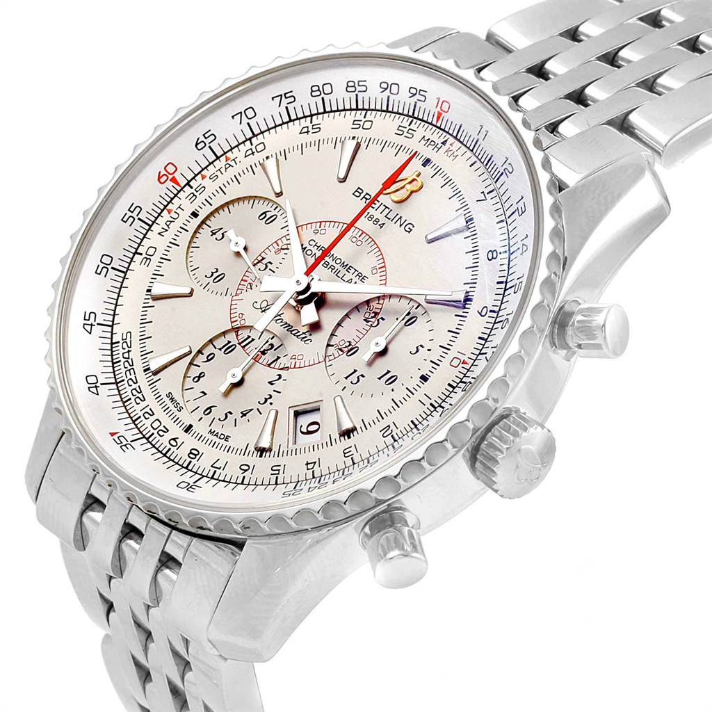 22135 Breitling Navitimer Montbrillant 01 Limited Mens Watch AB0131 Box Papers SwissWatchExpo