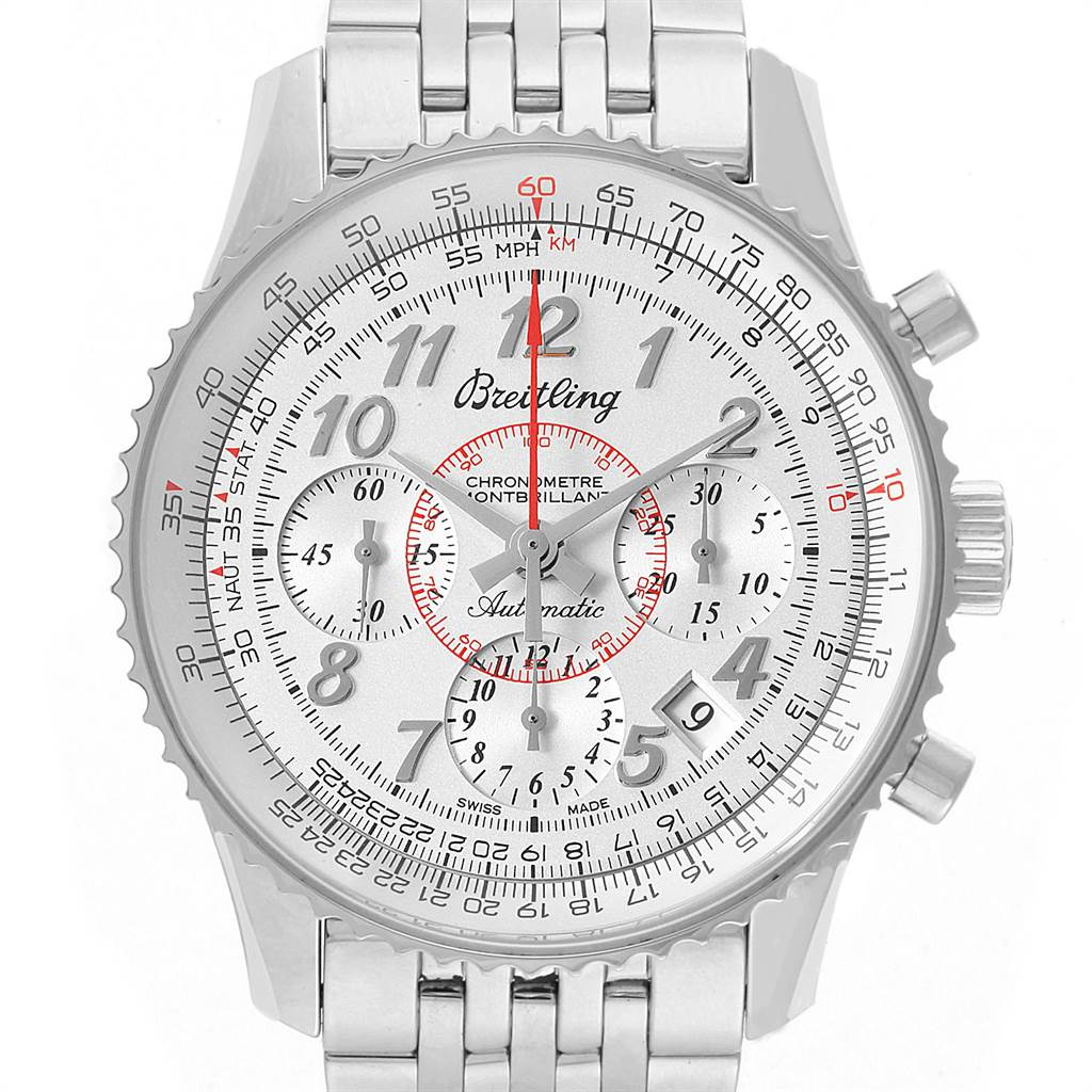 22341 Breitling Navitimer Montbrillant 01 Limited Mens Watch AB0131 SwissWatchExpo