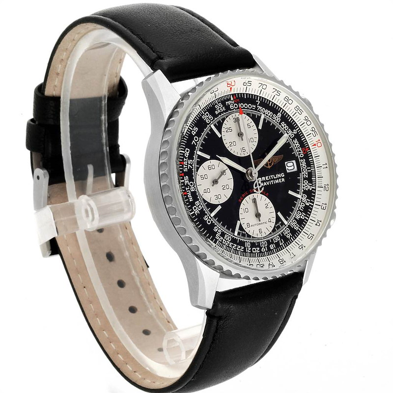 Breitling Navitimer Fighter Chronograph Mens Watch A13330 Box Papers SwissWatchExpo