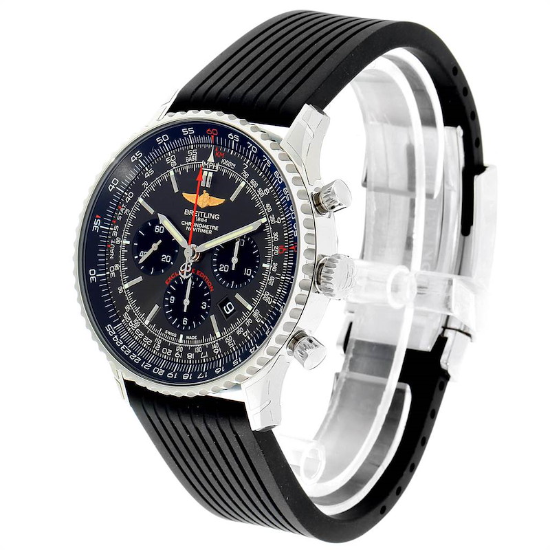 Breitling Navitimer 01 Gray Dial Limited Edition Watch AB0127 Unworn SwissWatchExpo
