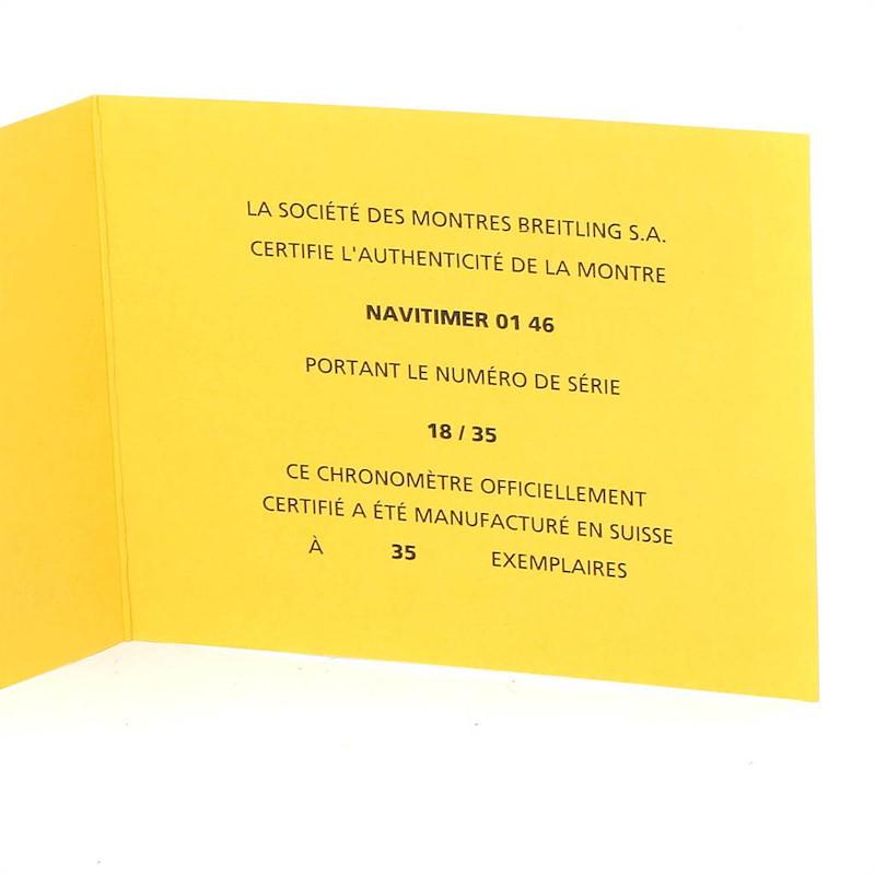 Breitling Navitimer 01 Rubber Strap Limited Edition Watch AB0127 Unworn SwissWatchExpo