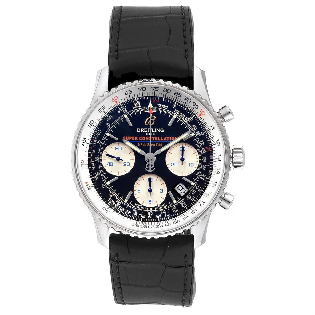 24147 Breitling Navitimer Super Constellation Limited Edition Watch A23322 SwissWatchExpo