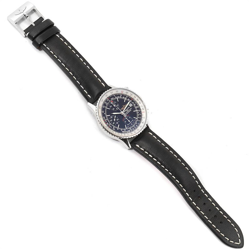 Breitling Navitimer Heritage Black Dial Mens Watch A13324 Box Papers SwissWatchExpo