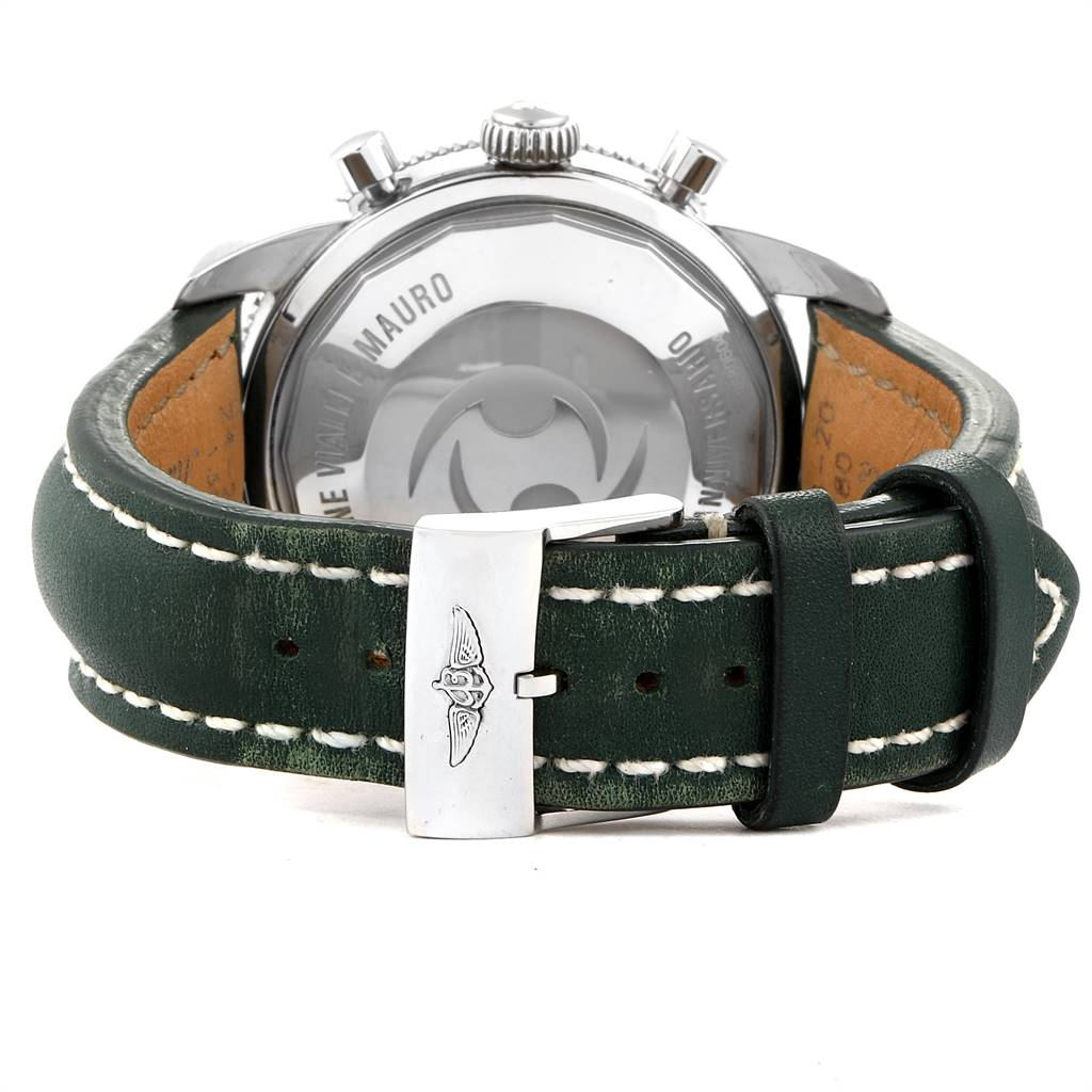 24781 Breitling SuperOcean Heritage Limited Edition Green Bezel Watch A13320 SwissWatchExpo