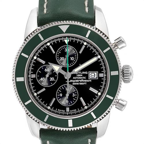 Photo of Breitling SuperOcean Heritage Limited Edition Green Bezel Watch A13320