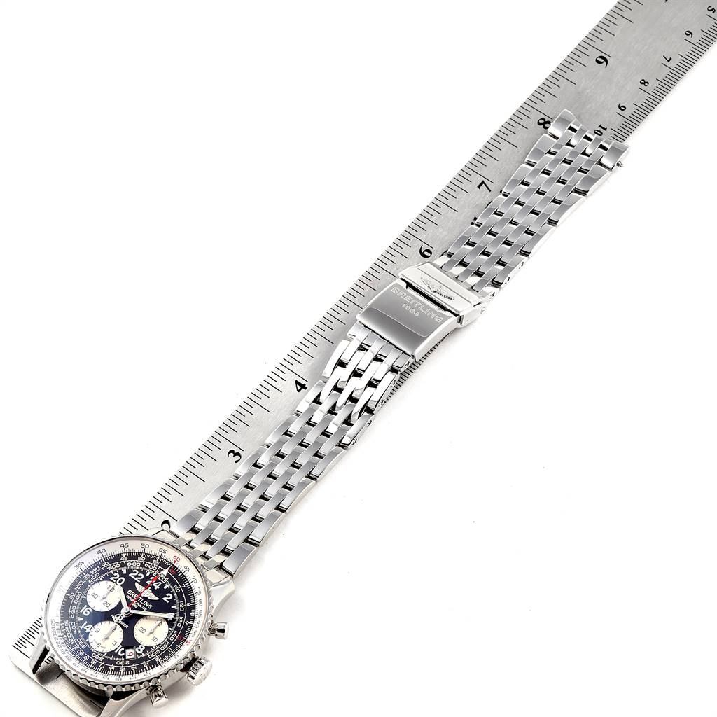 24729 Breitling Navitimer Cosmonaute 02 Limited Edition Mens Watch AB0210 SwissWatchExpo