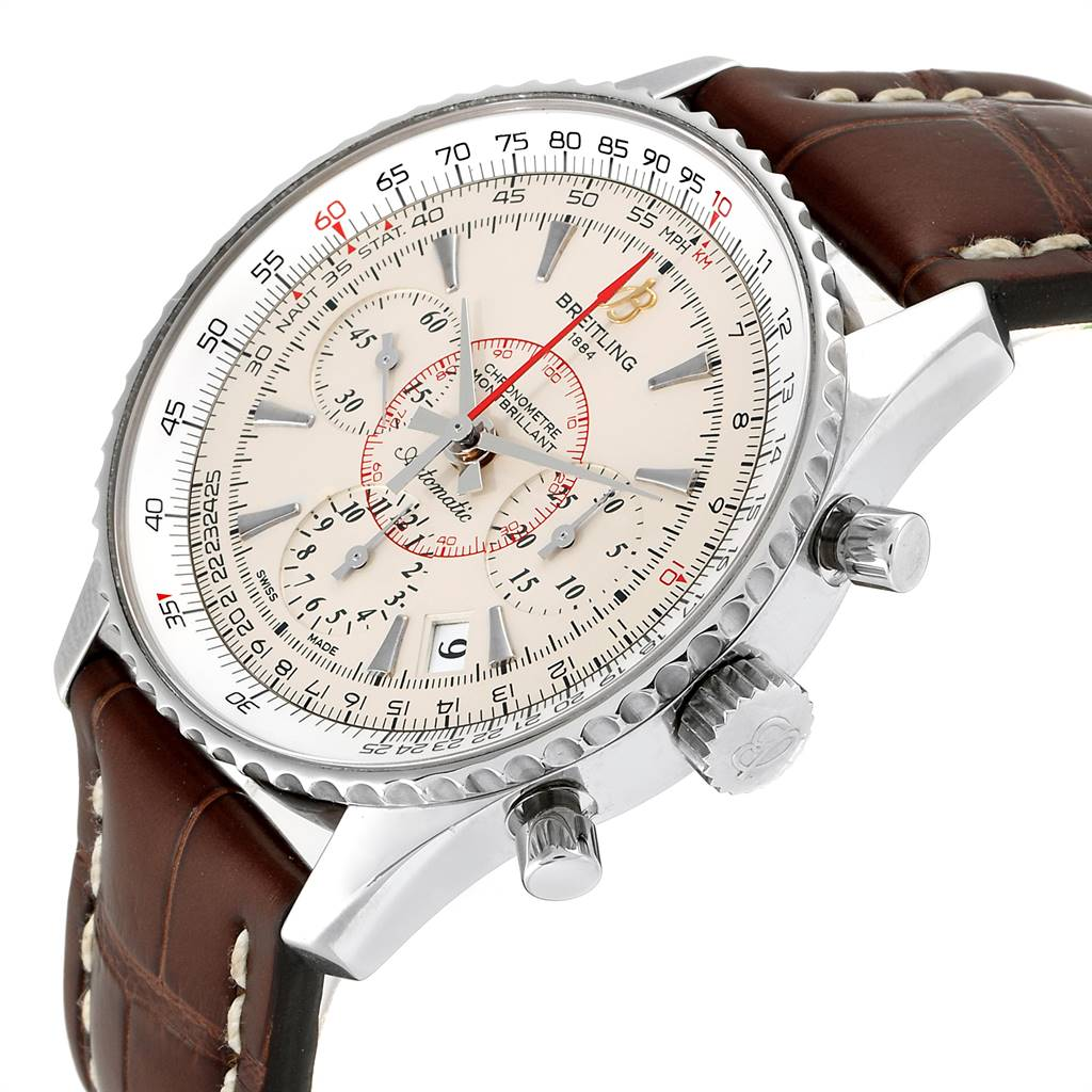 Breitling Navitimer Montbrillant 01 Limited Mens Watch AB0131 SwissWatchExpo