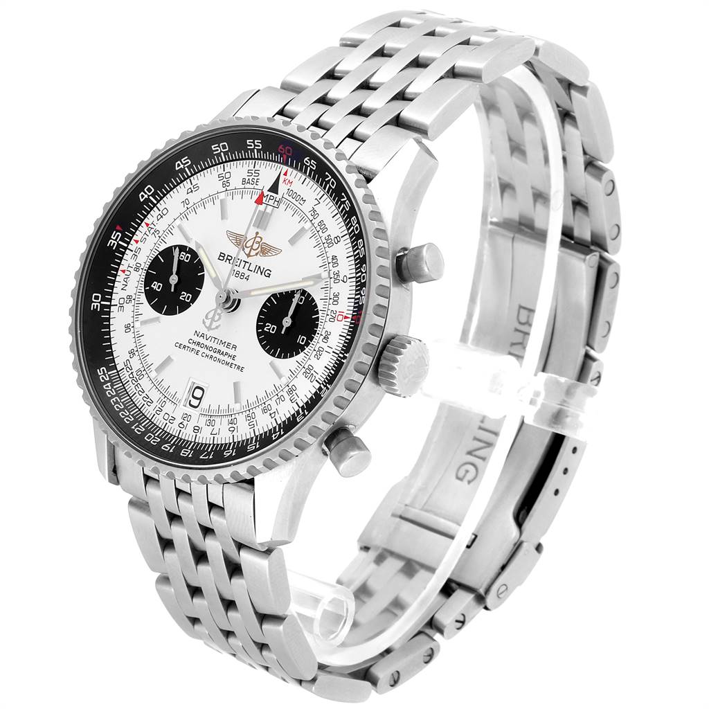 Breitling Navitimer Exemplaires Limited Edition Steel Mens Watch A23330 SwissWatchExpo
