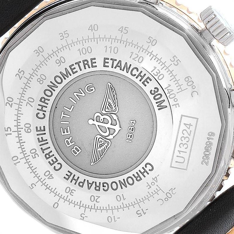 Breitling Navitimer 1 Chronograph 41 Steel Rose Gold Mens Watch U13324 SwissWatchExpo