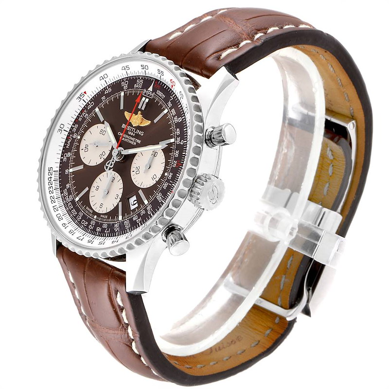 Breitling Navitimer 01 Panamerican Limited Edition Watch AB0121 Box Card SwissWatchExpo