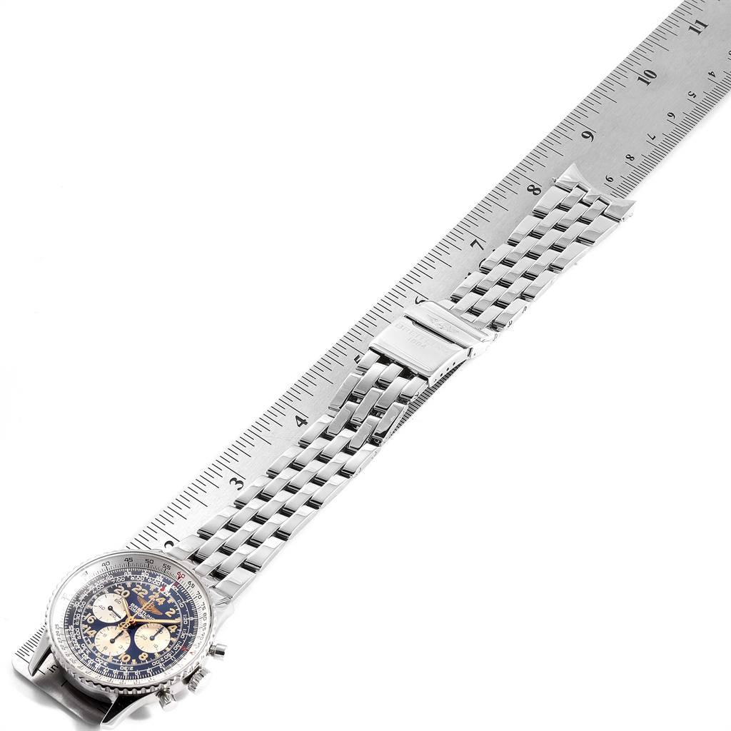 Breitling Navitimer Cosmonaute Exhibition Caseback Mens Watch D12023 SwissWatchExpo