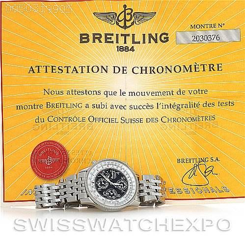 3013 Breitling Navitimer Montbrillant Olympus A1935012 SwissWatchExpo
