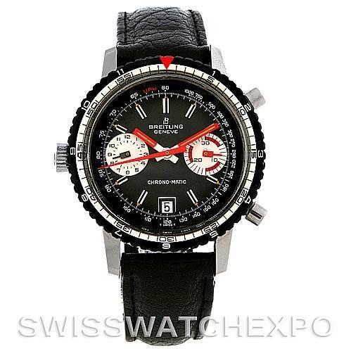 2994 Vintage Breitling Chronomatic Authomatic Watch 2110 SwissWatchExpo