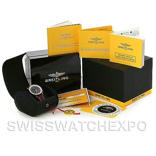 Breitling Navitimer Montbrillant Steel A4137012/B875 Watch SwissWatchExpo