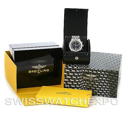 4005 Breitling Navitimer Montbrillant Legend Steel A23340 Watch SwissWatchExpo