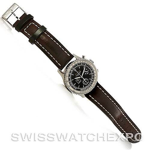 Breitling Navitimer Spatiographe Montbrillant Automatic Steel Watch A36330 SwissWatchExpo