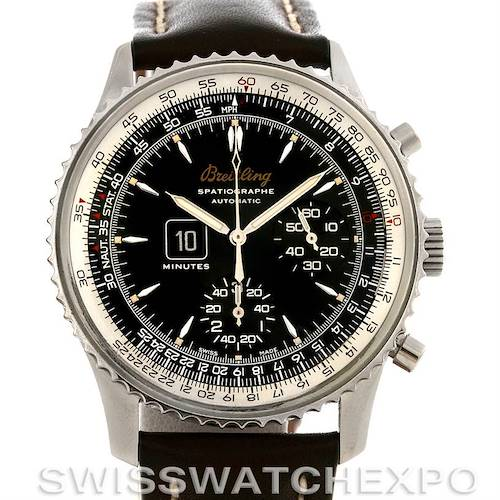 Photo of Breitling Navitimer Spatiographe Montbrillant Automatic Steel Watch A36330