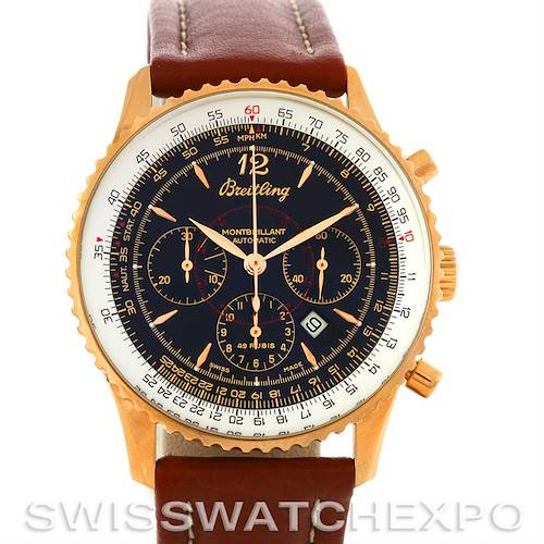 Photo of Breitling Navitimer Montbrilliant Chronograph 18K Rose Gold Watch H4133012