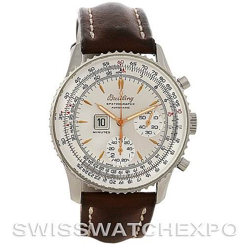 Breitling Navitimer Spatiographe Montbrillant Automatic Steel Watch A36030 SwissWatchExpo