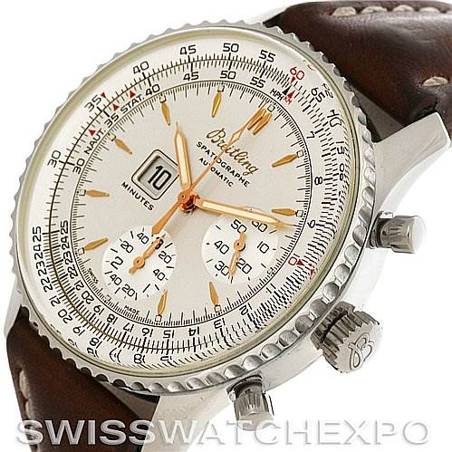 4078 Breitling Navitimer Spatiographe Montbrillant Automatic Steel Watch A36030 SwissWatchExpo