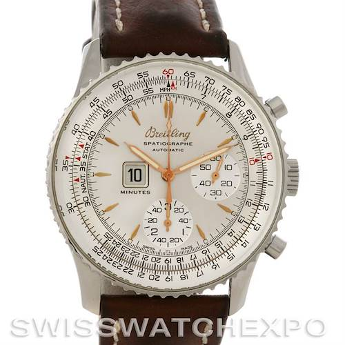Photo of Breitling Navitimer Spatiographe Montbrillant Automatic Steel Watch A36030