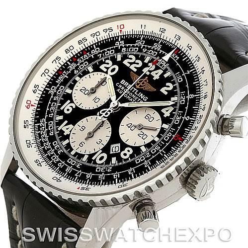 4152 Breitling Navitimer Cosmonaute Flyback Mens Watch A2232212 SwissWatchExpo