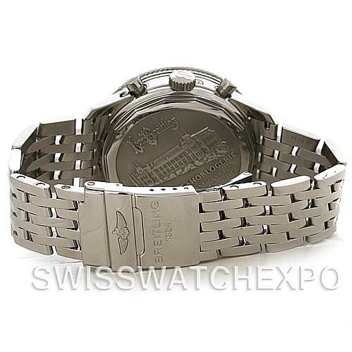 4191 Breitling Navitimer Montbrillant Olympus Men's Watch A19350 SwissWatchExpo