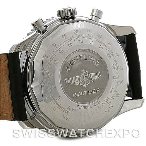 4211 Breitling Navitimer II Automatic Steel Watch A13022 SwissWatchExpo