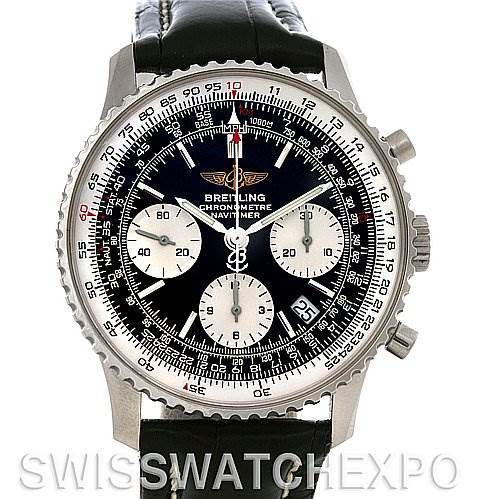 4239 Breitling Navitimer Automatic Chronograph Steel Watch A23322 SwissWatchExpo