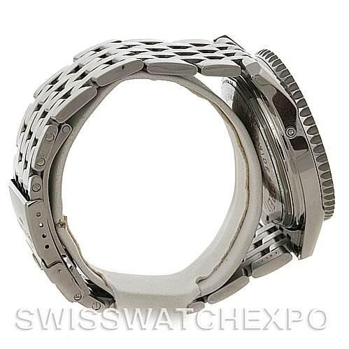 4238 Breitling Navitimer Montbrillant Datora Stainless Steel Watch A21330 SwissWatchExpo