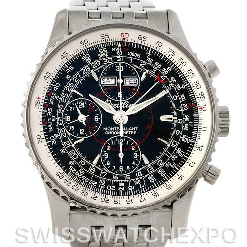 Photo of Breitling Navitimer Montbrillant Datora Stainless Steel Watch A21330