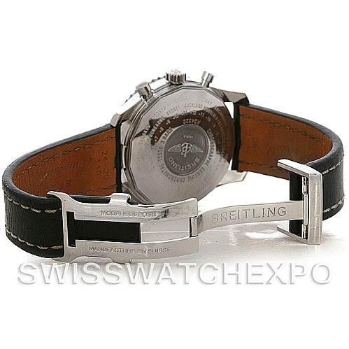 4324 Breitling Navitimer World Chronograph Steel Watch A24322 SwissWatchExpo