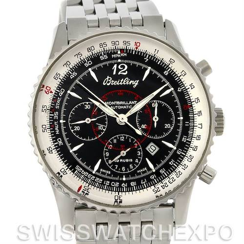 Photo of Breitling Navitimer Montbrilliant Chronograph Steel Watch A41330