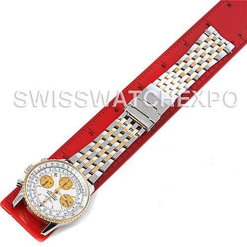 4332 Breitling Navitimer Steel and Gold Automatic Watch D23322 SwissWatchExpo