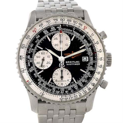 Photo of Breitling Navitimer Fighter A13330 Automatic Chronograph Steel Watch