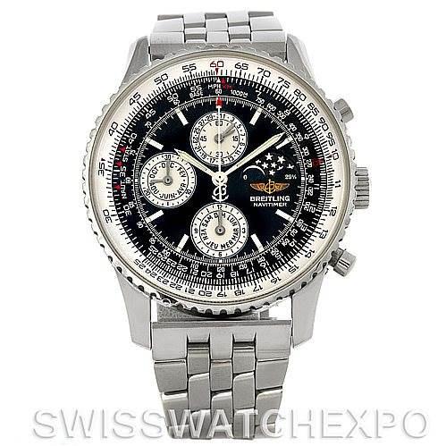 Breitling Navitimer Montbrillant Olympus Men's Watch A19340 SwissWatchExpo