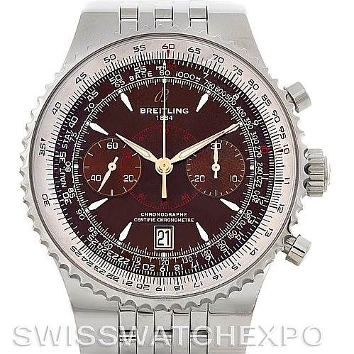 4529 Breitling Montbrillant Legende Steel Men's Watch A23340 SwissWatchExpo