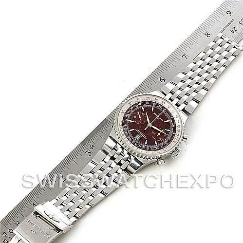 Breitling Montbrillant Legende Steel Men's Watch A23340 SwissWatchExpo