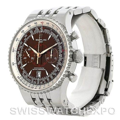 Breitling Montbrillant Legende Steel Men's Watch A23340 SwissWatchExpo