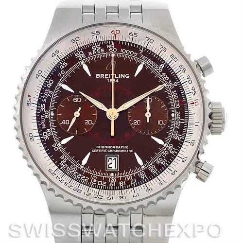 Photo of Breitling Montbrillant Legende Steel Men's Watch A23340
