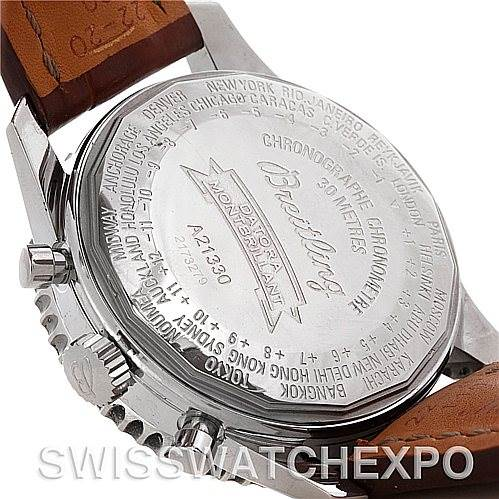 4738 Breitling Navitimer Montbrillant Datora A21330 SwissWatchExpo