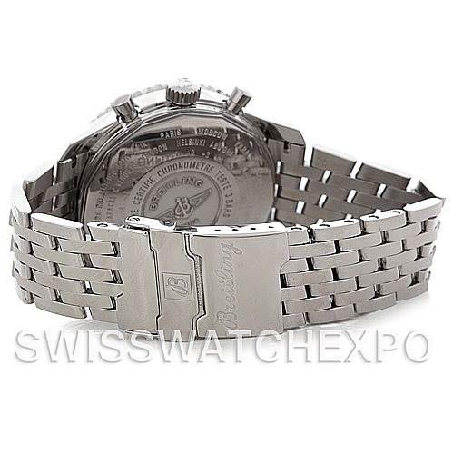 4719 Breitling Navitimer World Chronograph Steel Watch A24322 SwissWatchExpo