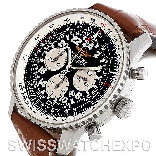 4842 Breitling Navitimer Cosmonaute Chrono Mens Watch A22322 SwissWatchExpo